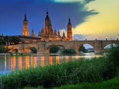 By Paulo Brandao - originally posted to Flickr as Basilica del Pilar, sunset, CC BY 2.0, https://commons.wikimedia.org/w/index.php?curid=4866442