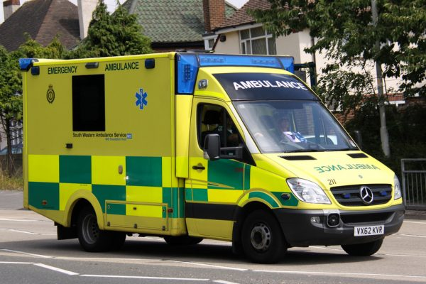"Member of an ambulance crew reported for shouting ""Viva España!"" at a patient"