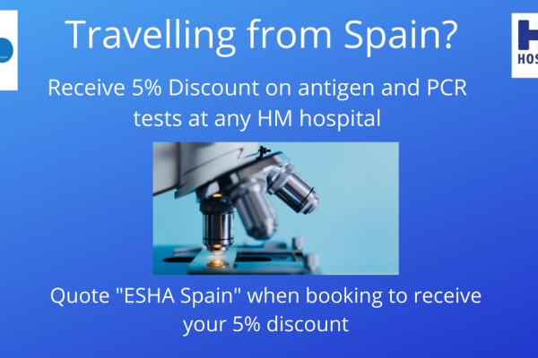 5% discount on antigen and PCR tests